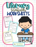 Station Activity Sheets