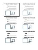 Station Behavior Cards