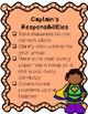 Station Captain Responsibilities Checklist FREEBIE (Spanish & English)