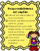 FREEBIE Station Captain Responsibilities Checklist (Spanish & English)
