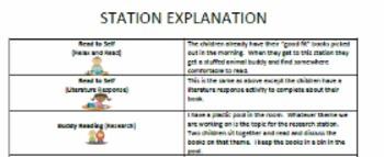 Station Documentation (Centers)