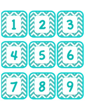 Chevron Numbers and Labels