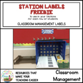Station Procedure and Labels Freebie