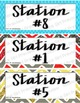 Station Labels - for Science Labs, Math or Centers