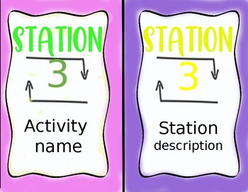 Station Markers