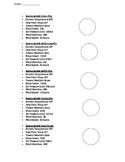 Station Model Worksheet (Earth Science Regents)