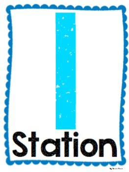 Station Number Poster