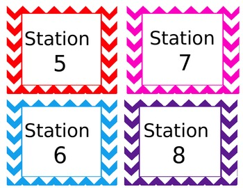 Station Numbers