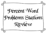 Station Review of Percent Word Problems