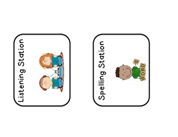 Station Rotation Cards