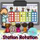 Station Rotation Chart  | in Spanish (para ActivInspire)
