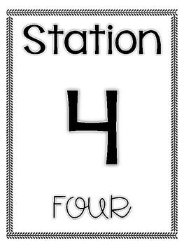 Station Rotation Sign Labels