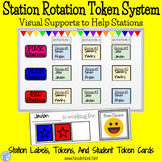 Station Rotation Token Economy- Visual Supports to Make Stations Work