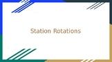 Station Rotations