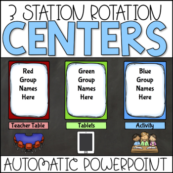 Station Rotation Automatic PowerPoint