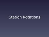 Station Rotations PPT - EDITABLE