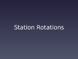 Station Rotations PPT - EDITABLE