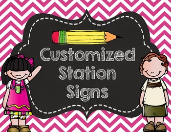 Station Signs- Customized for you!