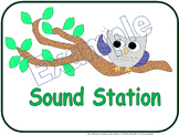 Station Signs: Owl-Themed