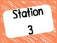 Station Teaching Labels