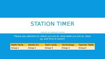 Station Timer