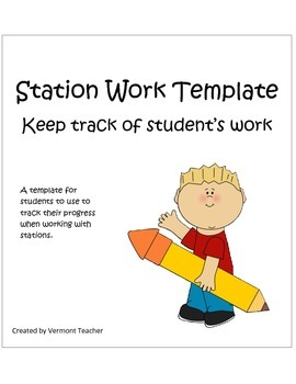 Station Work Template