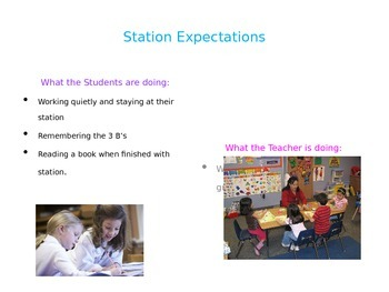 Station/Centers Expectations