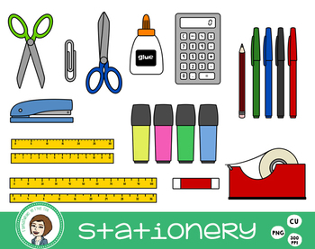 Stationery Clip Art - Back to School
