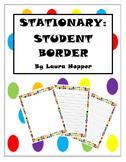 Stationary- Student Border