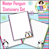 Stationary ● Writing Paper ● Winter Penguins