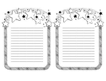 Stationary for Letter Home