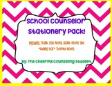 Stationery Pack for School Counselors (12 stationery pages)