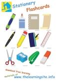 Stationery / School Supplies Flashcards