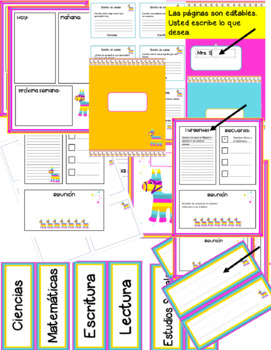 Colorful Stationery (Spanish)