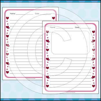 Stationery Writing Paper | Valentine's Day