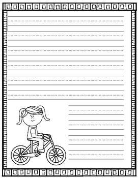 Stationery and Storybook Paper for Kids