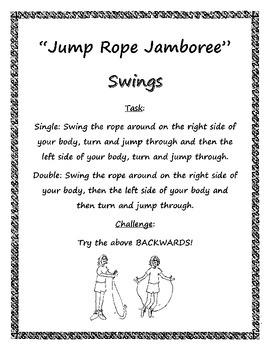 Stationmania: Jump Rope Jamboree - Swings Station Card