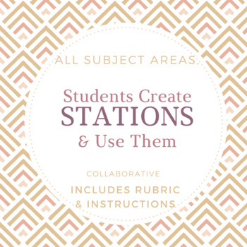 Stations Activity: Students Make Stations, Adaptable for A