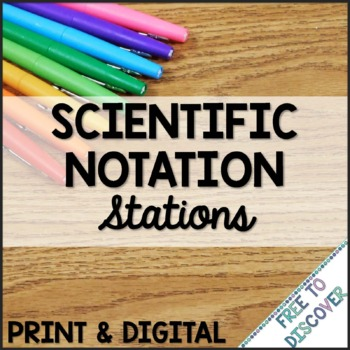 Scientific Notation Stations