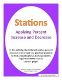 Stations - Applying Percent Increase and Decrease