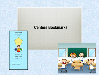 Editable Stations / Centers Bookmarks