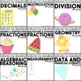 Stations by Standard Bundle Fifth Grade
