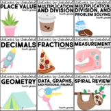 Stations by Standard Bundle Fourth Grade