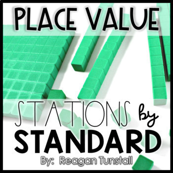 Stations by Standard Bundle Second Grade