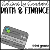 Stations by Standard Data and Finance Third Grade