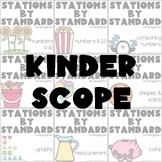 Stations by Standard Kindergarten Scope