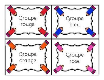 24 Stations de littéracie ou littératie (24 literacy stations in French)