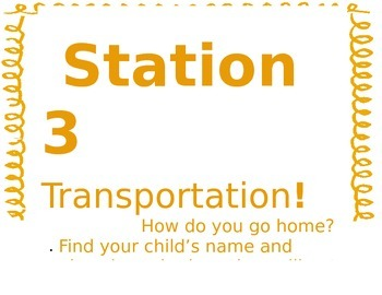 Stations for Open House