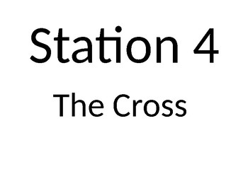Stations of the Cross 2017 signs