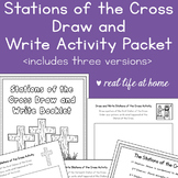 Stations of the Cross Activity: Draw and Write Stations of